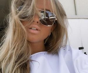 blonde, sunglasses, and wild image