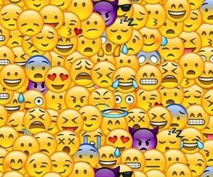 iphone, phone, and emojis image