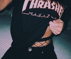thrasher, black, and style image