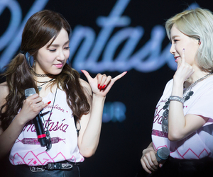 snsd, tiffany, and taeyeon image