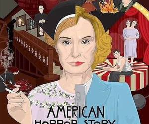 american, ahs, and horror image