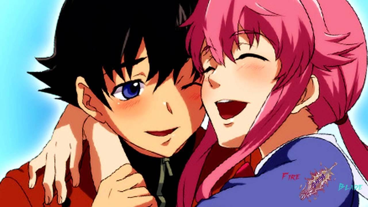 mirai nikki and anime image