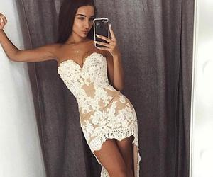 Prom and white party dresses image