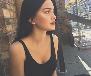 beautiful, black hair, and clothes image