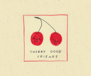 aesthetic, cherry, and grunge image
