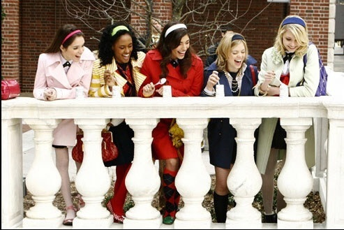 gossip girl, fashion, and school image
