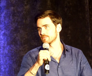colin, once upon a time, and irish man image