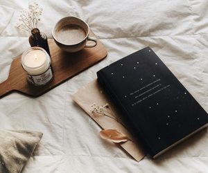 coffee, cozy, and book image
