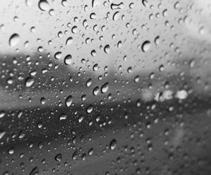 colorblind, rain, and sad image