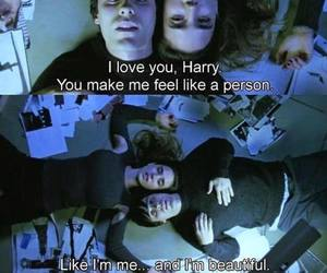 requiem for a dream, movie, and love image
