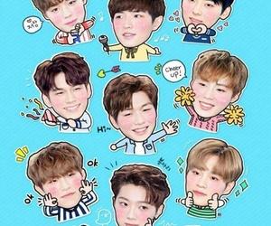 wallpaper, hwang minhyun, and wallphone image