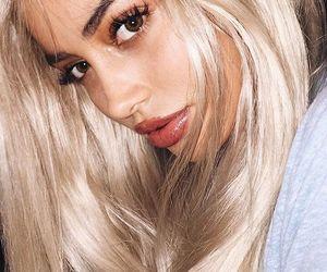 cindy kimberly, blonde, and makeup image