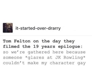 harrypotter, dracomalfoy, and hp image