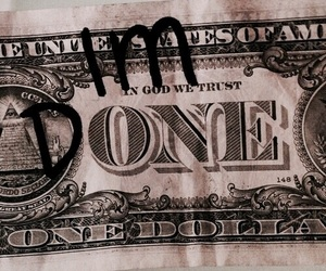 money, dollar, and done image