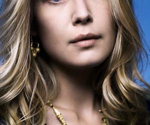 beautiful, blonde, and rosamund pike image