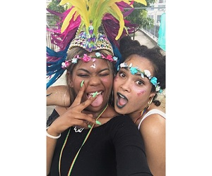 carnival, colors, and caribbean girls image