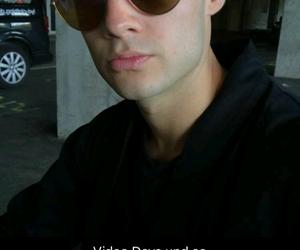 boy, sunglasses, and men image