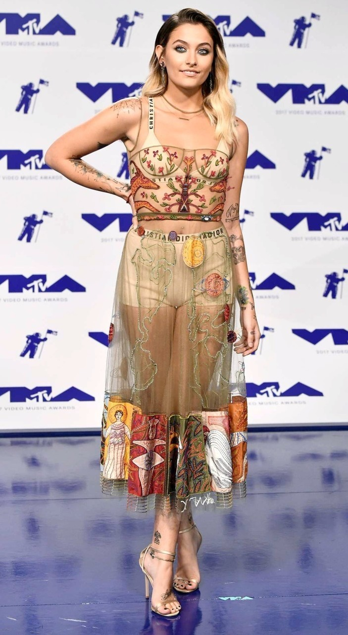 vmas, video music awards, and paris jackson image