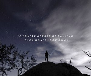 afraid, Lyrics, and quote image