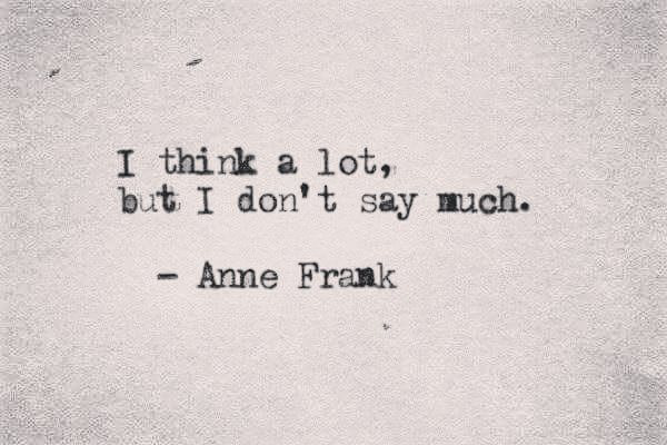 quotes, anne frank, and think image