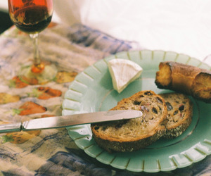 bread, wine, and 365 image