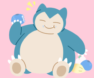 snorlax and gen1 image