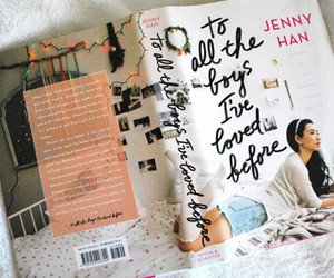 book, jenny han, and lara jean image
