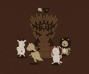 stark, throne, and got image