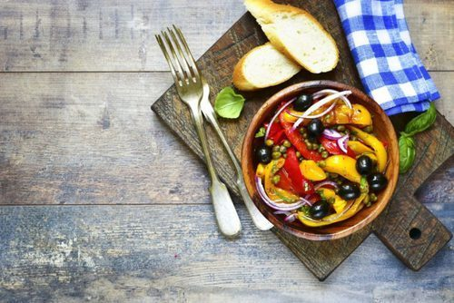 recipe and peperonata image