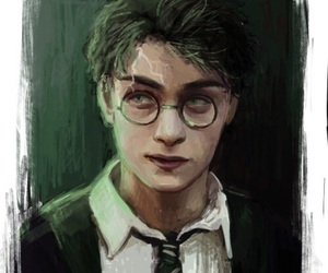 harrypotter, potter, and harry image