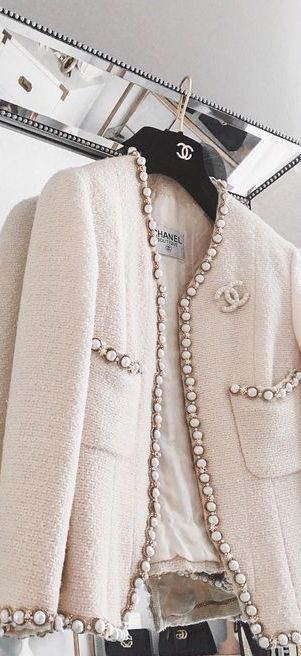 chanel, fashion, and jacket image