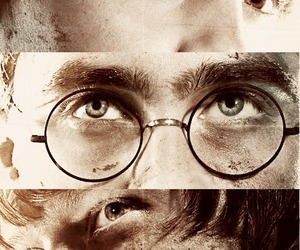 harry potter, hermione granger, and daniel radcliffe image