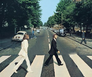 abbey road, beatles, and photoshop image
