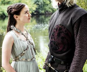 game of thrones, love, and rhaegar targaryen image