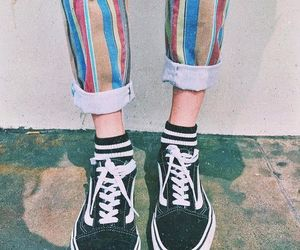 fashion, vans, and tumblr image