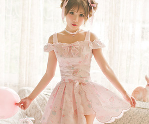 chiffon, darling, and frilly image