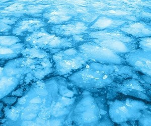 blue, aesthetic, and ice image