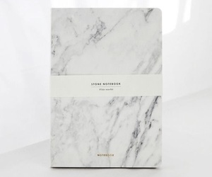 marble and notebook image