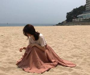 beach, aesthetic, and clothes image