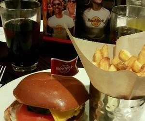 food, hard rock cafe, and london image
