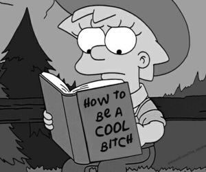 simpsons, bitch, and cool image