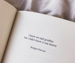 quotes, book, and goodbye image