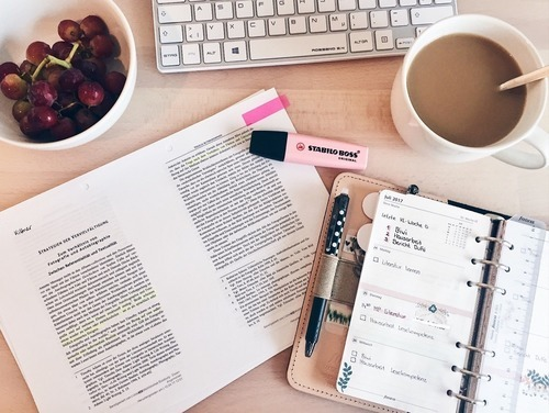 study, bujo, and studyblr image