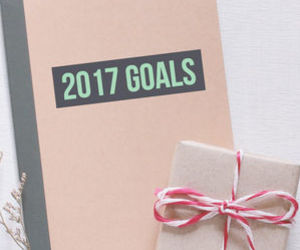 goals, notebook, and bucket list image