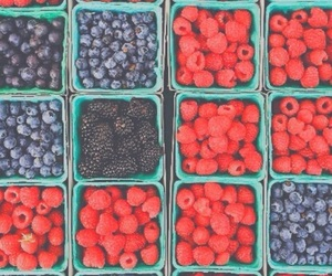 berries, fruit, and bright pastel image
