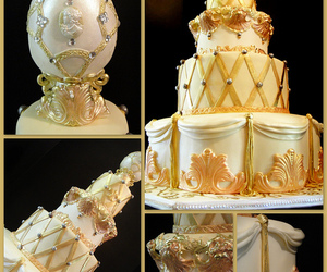 baroque, cake, and faberge egg image