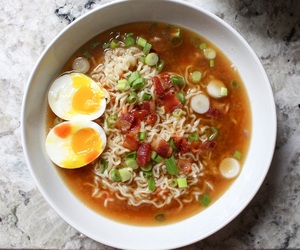 noodles, food, and pasta image