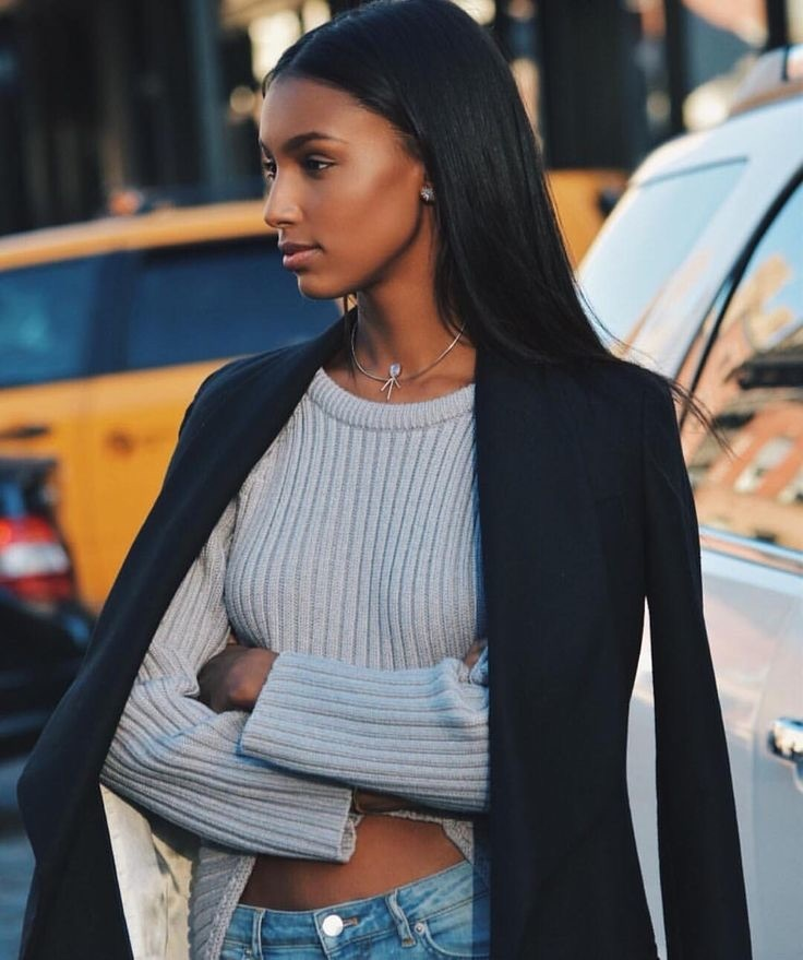 model, jasmine tookes, and nyc image