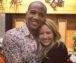 amy acker and j. august richards image