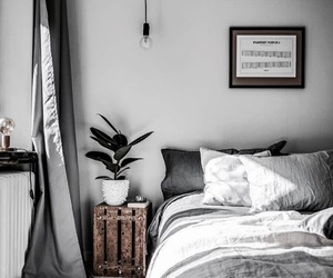 architecture, bedroom, and minimalist image